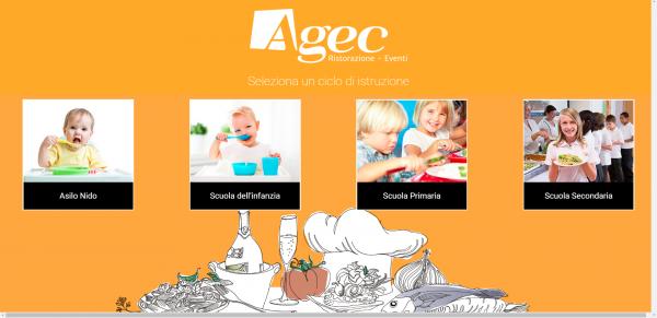 Ristorazione Scolastica. con Agec, la piattaforma per essere sempre informati sul menù dei figli